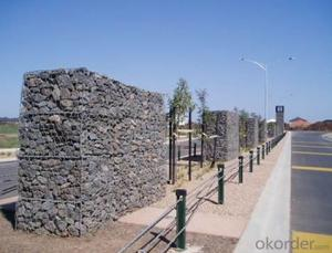 Gabion Box Wire Mesh Low -Carbon Q195 Wire Welded Mesh Sizes