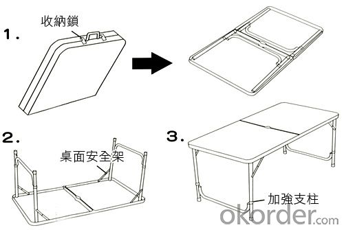 Plastic folding table white plastic folding tables outdoor folding table