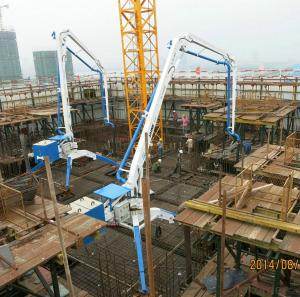 HGY15 Mobile Concrete Placing Boom HOT SALE