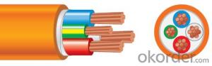 Circular Cables PVC 600/1000V 3C+E Copper /Orange cable as per  AS/NZS 5000.1