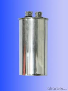 oval single coil air conditional capacitors