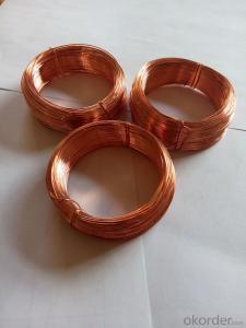 Red copper wire
