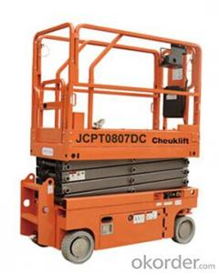Full Electric Walkie Scissor Aerial Work Platform(hydraulic motor)-JCPT0807DC