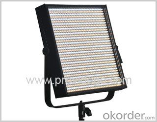 Bi-color 1*1 LED video light panel