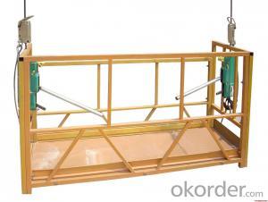 manual suspended platform