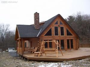 Wooden House, Garden House with Prefabricated House