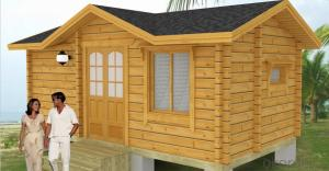 wooden house ANA007