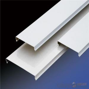 C-shaped Strip Aluminum Ceiling