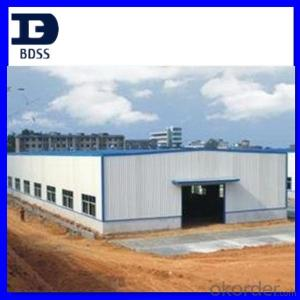 Prefarbricate steel warehouse