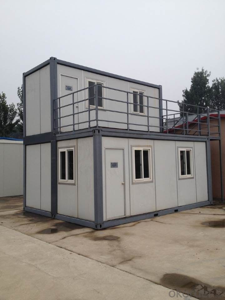 Steel structure prefabricated container wall sandwich panel mobile homes