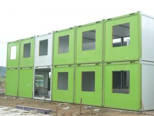 Custom Modular Prefab Container House S20-1 in Papua New Guinean With Firm Structure