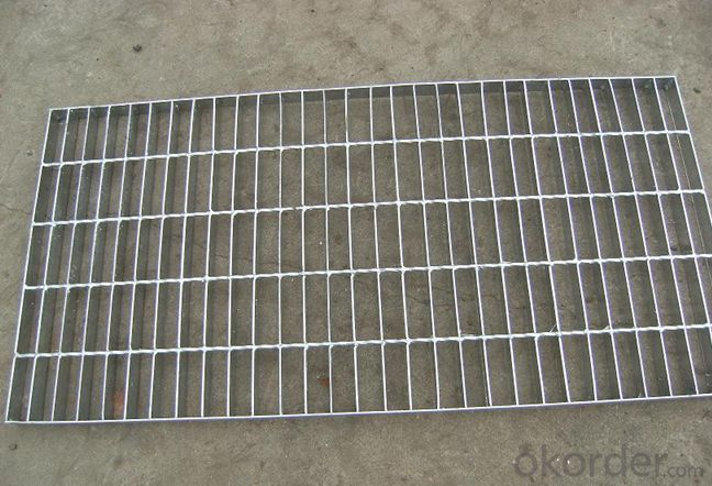 PVC Coated or Galvanized Painted Untrea Steel Grating Low Price