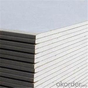 Paper Faced Gypsum Board