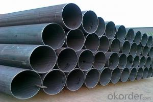 Hot dipped galvanized iron pipe for gas