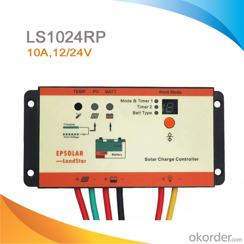 PWM Waterproof Solar Road Controller ,10A ,12/24V  LS1024RP