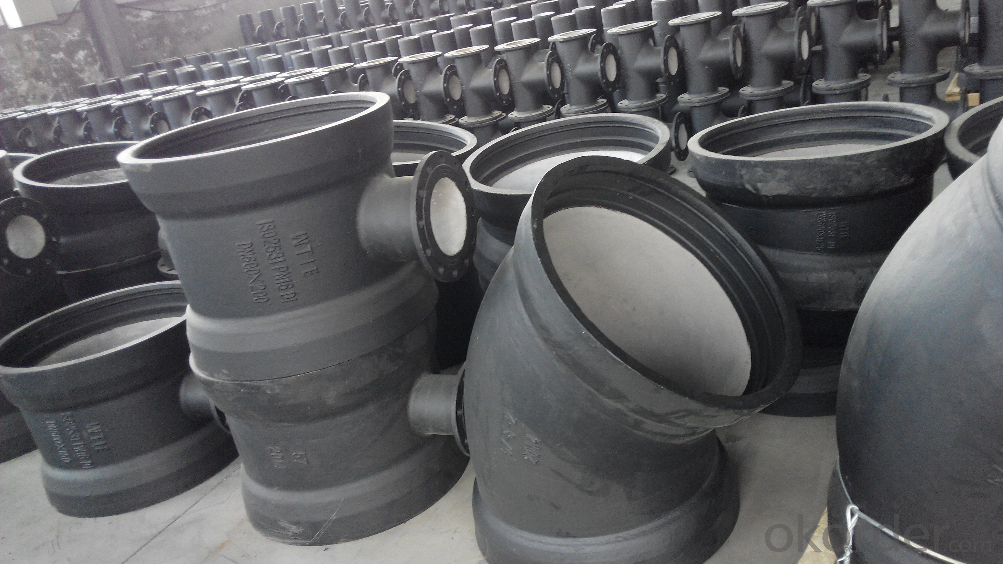 ductile cast iron fitting       EN598