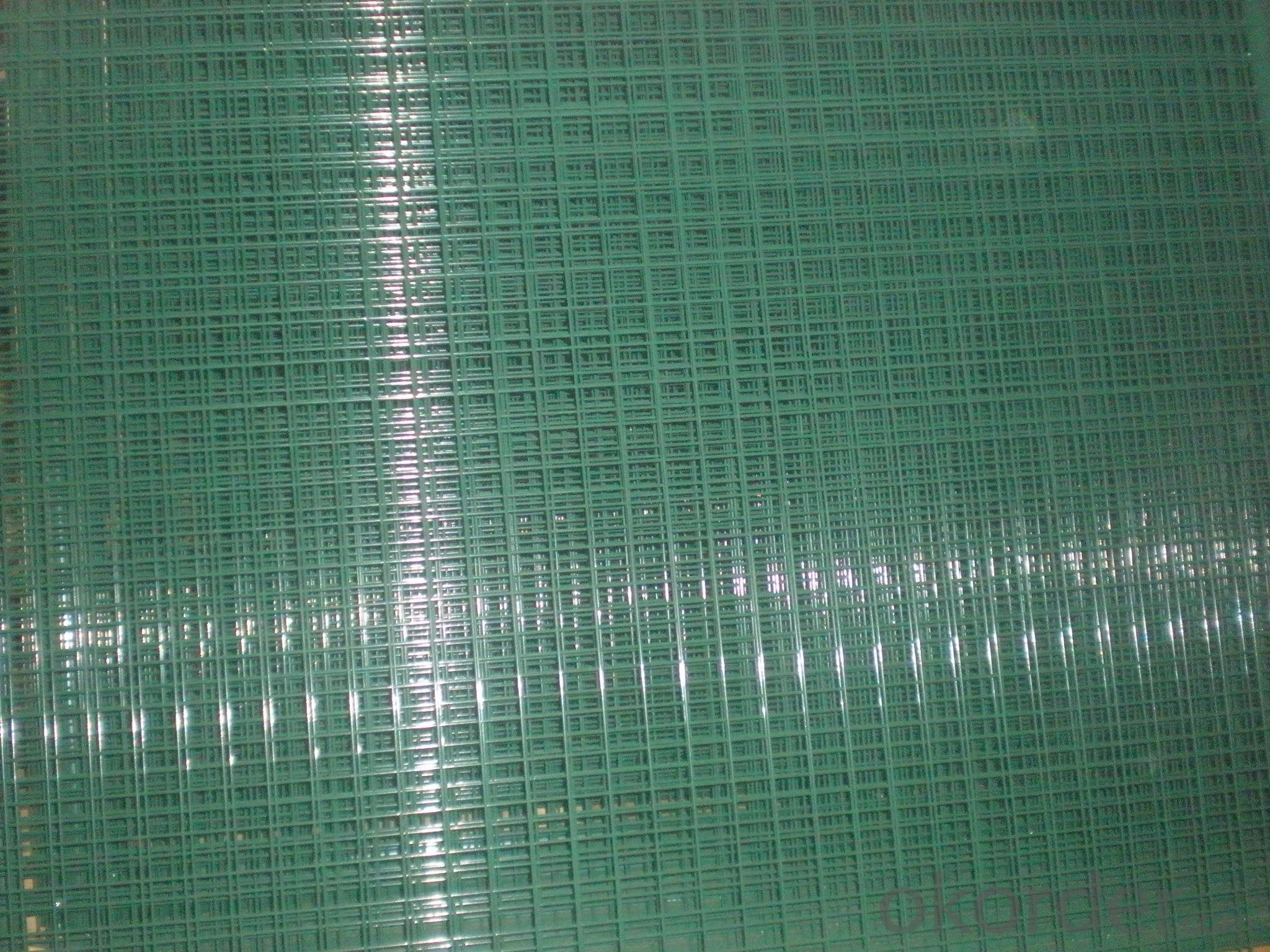 High Quality Green PVC Coated Wire Mesh Panel