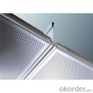 Fire-Resistant Lay in Aluminum Ceiling