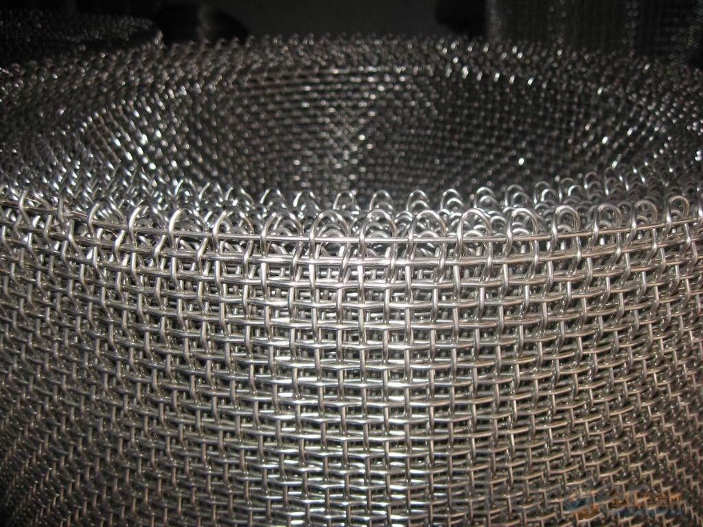 Buy Crimped Wire Mesh For Filtering Customised Size With