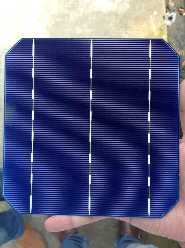 Mono-Crystalline Solar Cell 156*150mm Made in Taiwan