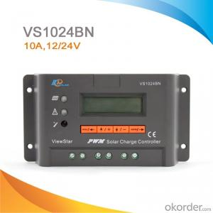 Intelligent PWM Solar Charge Controller for Solar Street Light,10A,12V/24V,VS1024BN