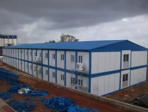 Sandwich Panel House Economical for Construction Site