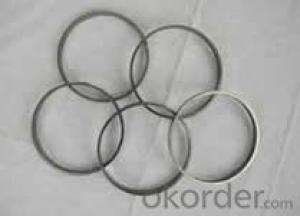 Flexible graphite packing ring