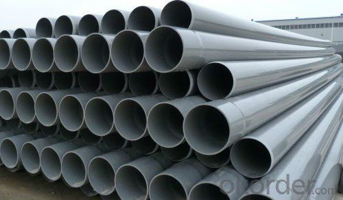 DN125mm High impact PVC Pipe for water supply
