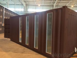 Shipping container prefabricated modular housing high cost