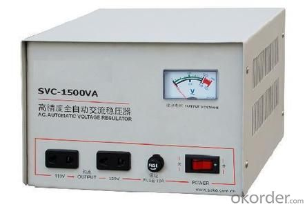 TND series High Accuracy Full-automatic AC Voltage Stabilizer