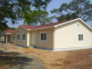 Anti-seismic Light gauge steel modular house
