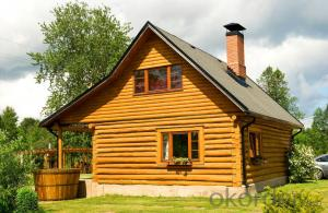 low cost prefabricated wooden house