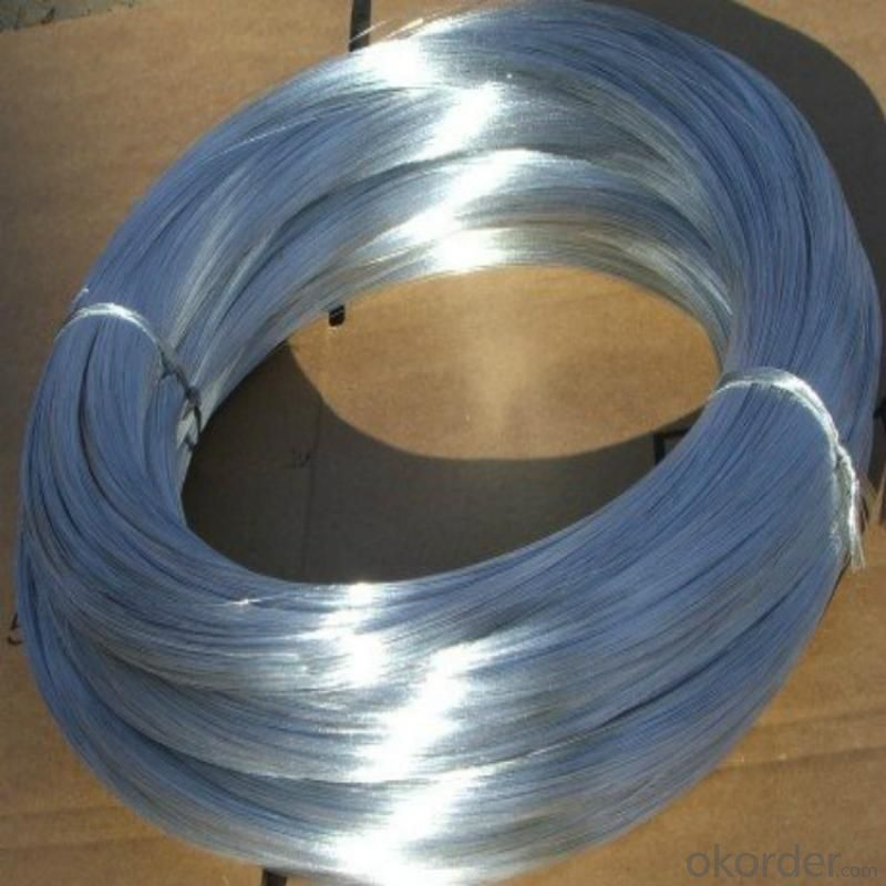 Galvanized Iron Wire For Chain Llink Fence