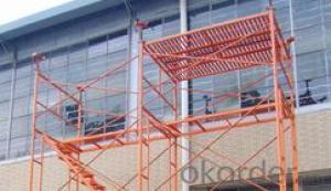 H-frame scaffolding system/door frame scaffolding system