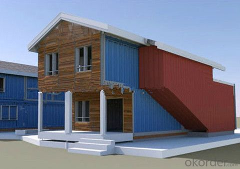 Low cost high quality prefabricated container homes