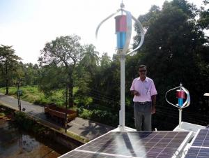 Maglev Vertical Axis Wind Turbine 1000W