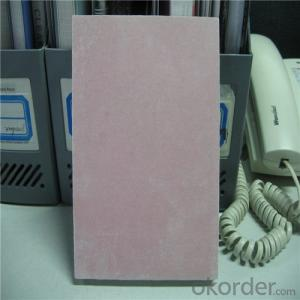 High Quality Fire-Resistant Gypsum Board