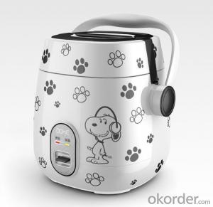 Cartoon mini electric rice cooker