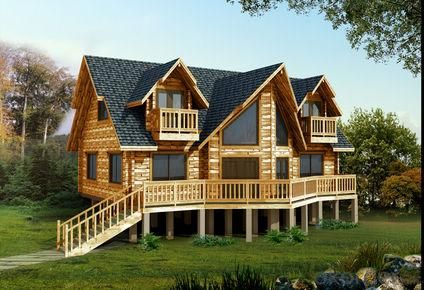 wooden house ANA018
