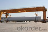 Straddle carrier / Special  Carrier for wind power equipment
