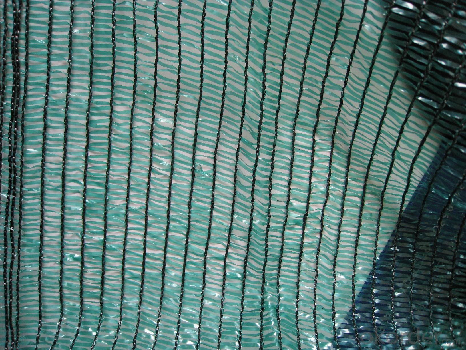 Hdpe green color 75% Anti UV Monofilament Greenhouse Sunshade Netting