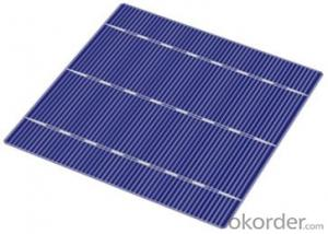 China Solar Cells Poly  156x156mm with High Conversion Efficiencies