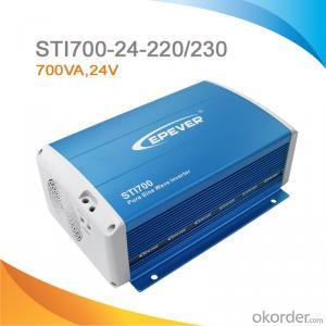 High Efficiency Off-Grid Pure Sine Wave Power Inverter 700W, 24V-220V/230V,STI700