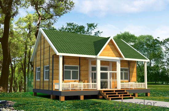 Wooden Houses Made in China with High Quality