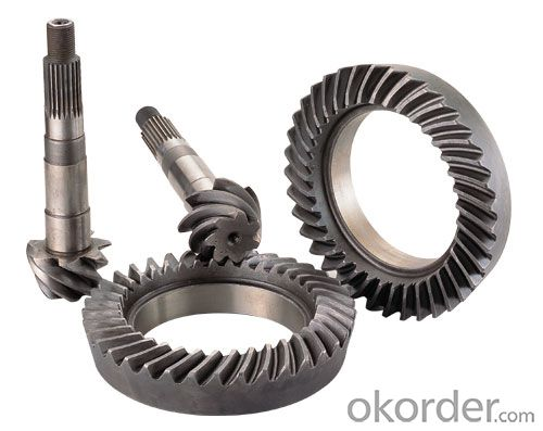 Quality Toyota 4WD Parts: Crown Wheel and Pinion, Land Cruiser, OE Number.: 41201-69266, 41201-69825