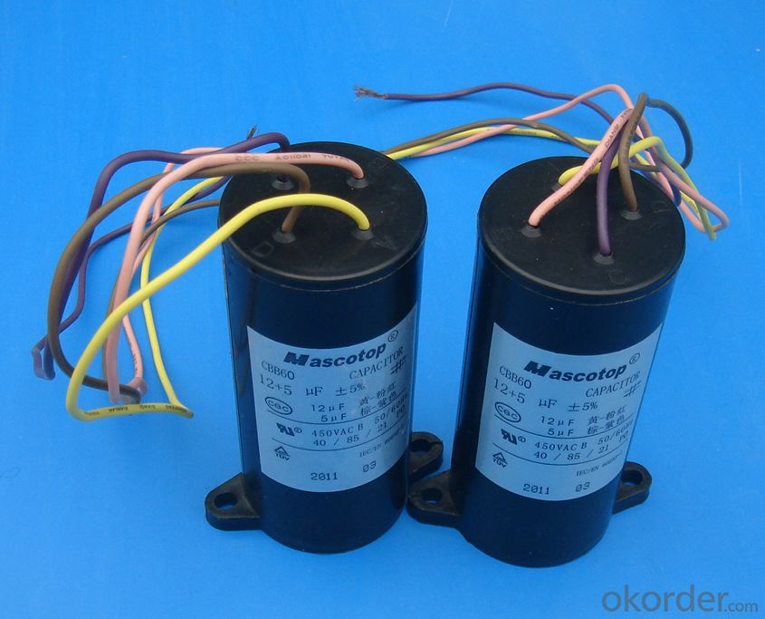 washing machine capacitor