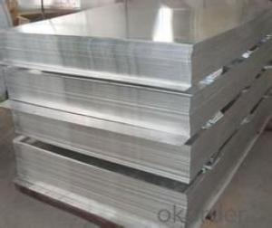 Mill finish aluminum sheet for panels