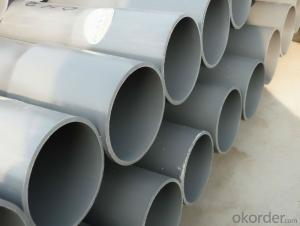 DN140mm High impact PVC Pipe for water supply