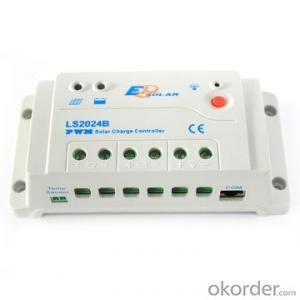 PWM Solar Charge Controller,20A 12/24V,LS2024B