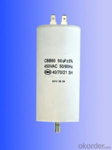 white  plastic can  motor running capacitors